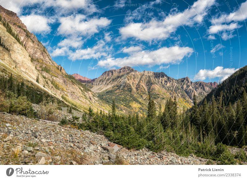 Maroon-Snowmass Wilderness in Colorado Zufriedenheit Ferien & Urlaub & Reisen Abenteuer Ferne Freiheit Expedition Camping Berge u. Gebirge wandern Umwelt Natur