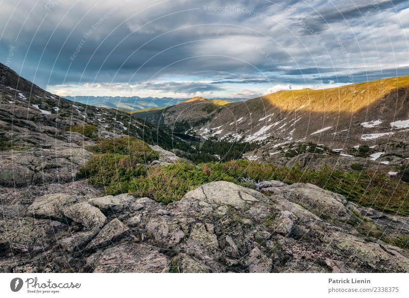 Holy Cross Wilderness, Colorado Himmel Ferien & Urlaub & Reisen Natur Sommer Landschaft Wolken Ferne Berge u. Gebirge Umwelt Freiheit Zufriedenheit wandern