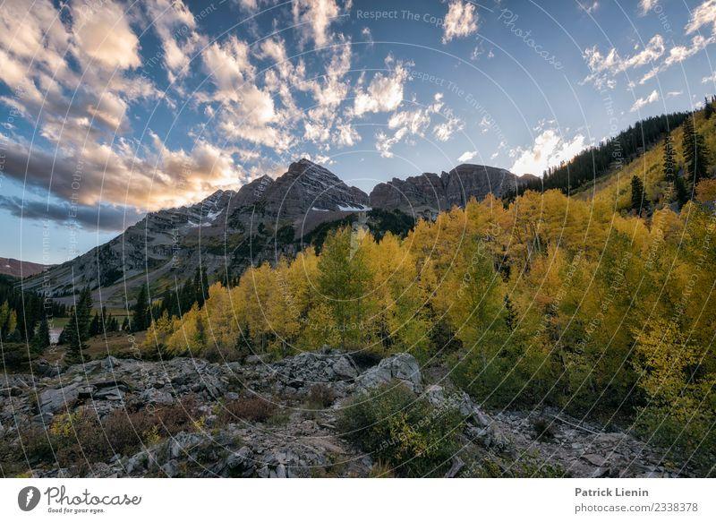 Maroon-Snowmass Wilderness Wohlgefühl Erholung Ferien & Urlaub & Reisen Ausflug Abenteuer Ferne Expedition Camping Berge u. Gebirge wandern Umwelt Natur