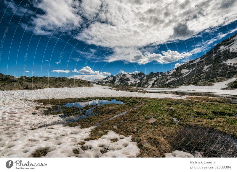Holy Cross Wilderness, Colorado Sinnesorgane Erholung ruhig Ferien & Urlaub & Reisen Ausflug Abenteuer Ferne Freiheit Expedition Camping Sommer Berge u. Gebirge