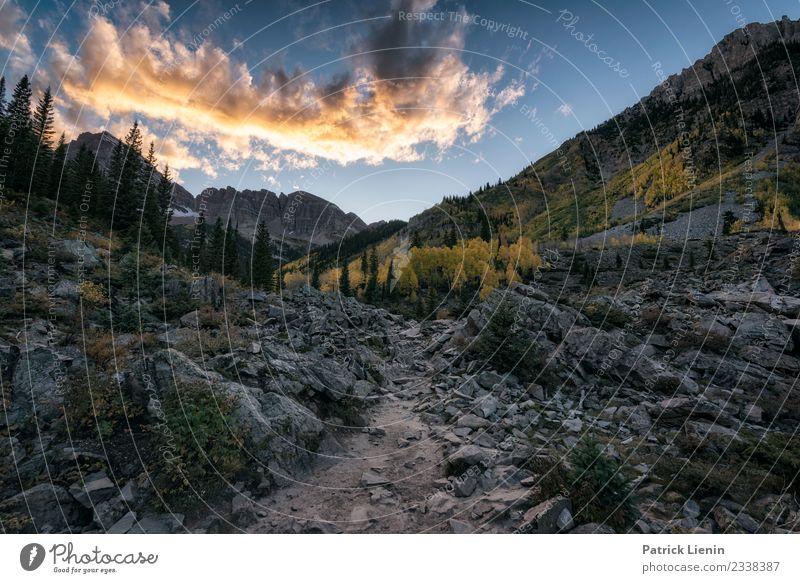 Maroon-Snowmass Wilderness in Colorado Sinnesorgane Erholung ruhig Meditation Ferien & Urlaub & Reisen Tourismus Ausflug Abenteuer Ferne Freiheit Camping