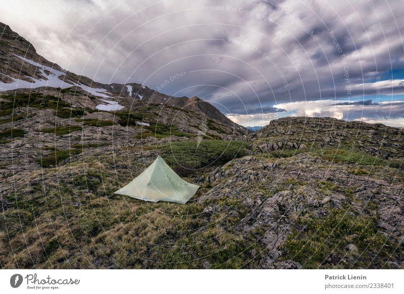 Camping in Colorado Ferien & Urlaub & Reisen Ausflug Abenteuer Freiheit Sommer wandern Umwelt Natur Landschaft Urelemente Erde Himmel Wolken Frühling Klima