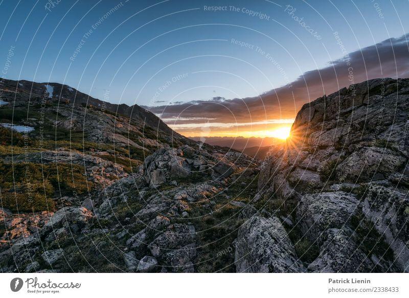 Holy Cross Wilderness, Colorado Himmel Ferien & Urlaub & Reisen Natur Sommer Sonne Berge u. Gebirge Umwelt Freiheit Felsen Ausflug wandern springen Wetter
