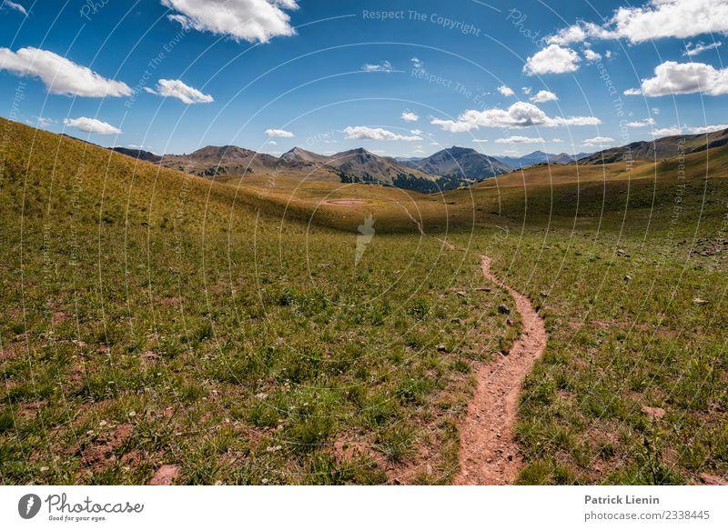 Maroon-Snowmass Wilderness in Colorado Wohlgefühl Zufriedenheit Sinnesorgane Erholung Ferien & Urlaub & Reisen Ausflug Abenteuer Ferne Berge u. Gebirge wandern