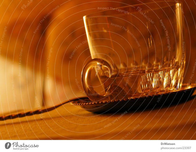 Glas Bowle Stimmung Makroaufnahme Licht Physik Alkohol Feste & Feiern Wärme
