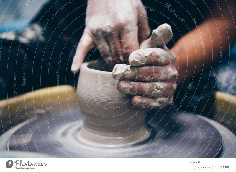 Töpferei Freizeit & Hobby Hand Kunst Künstler Skulptur Keramik Radwurf Business einzigartig Inspiration Ton Tontopf Kunsthandwerker Künstlerleben Werkstatt