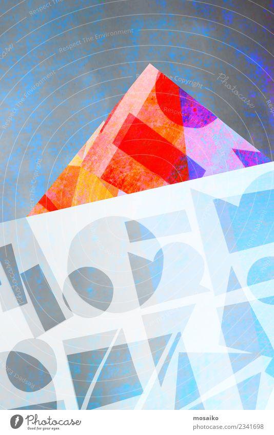 Geometrische Formen Farbe Leben Lifestyle Stil Kunst Party Feste & Feiern Design Zufriedenheit elegant Wachstum ästhetisch Kultur Abenteuer