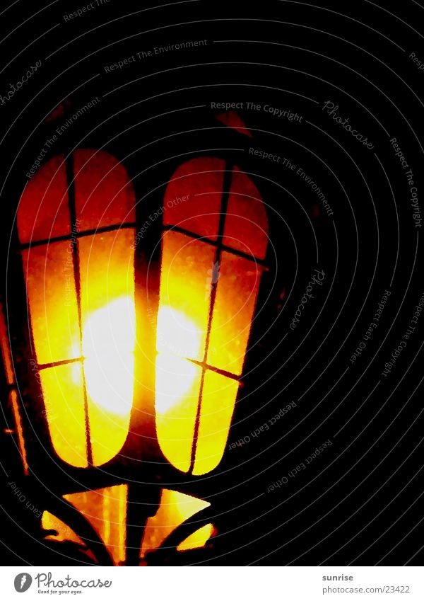 Straßenlaterne dunkel Europa Laterne Straßenbeleuchtung Venedig