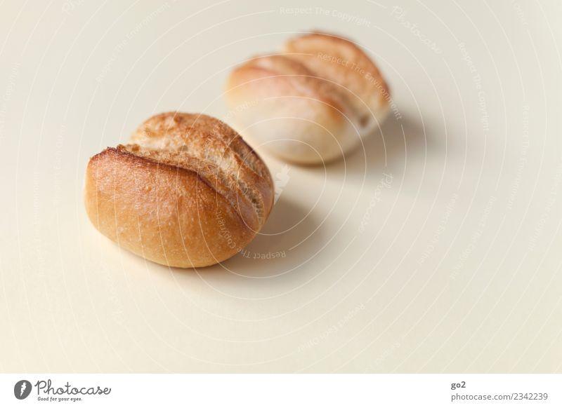 Brötchen Lebensmittel Ernährung Essen Frühstück Diät ästhetisch einfach lecker braun bescheiden zurückhalten sparsam Farbfoto Innenaufnahme Studioaufnahme