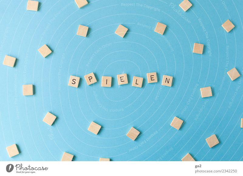 Let´s play Freizeit & Hobby Spielen Brettspiel Kindererziehung Schule lernen Theaterschauspiel Musik Spielzeug Schriftzeichen blau Toleranz beweglich Freude