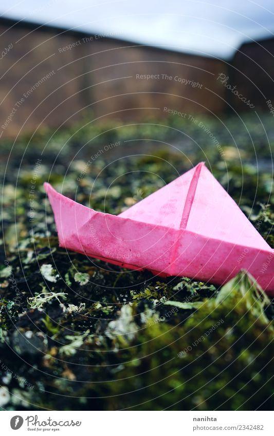 Natur Ferien & Urlaub & Reisen Pflanze grün Umwelt natürlich Spielen rosa Stimmung Freizeit & Hobby Verkehr retro dreckig Kreativität authentisch Schönes Wetter
