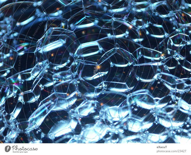 Bubbles Wasser blau Farbe nass Blase Seife Tinte Schreibwaren Tintenfaß