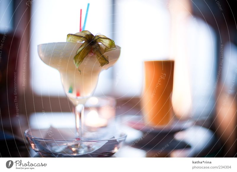 frozen ananas margarita Getränk Alkohol Longdrink Cocktail Glas elegant Stil Sommer Nachtleben Bar Cocktailbar exotisch trendy blau gelb gold rosa Laster