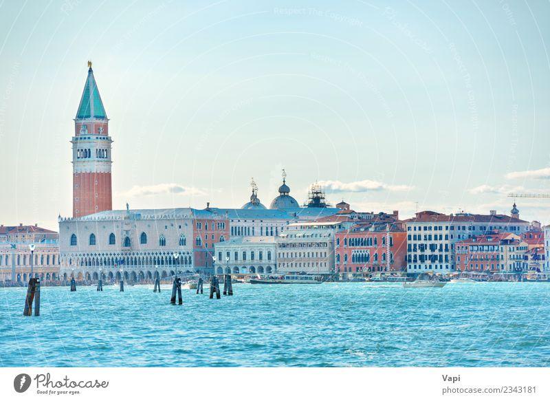 Himmel Natur Ferien & Urlaub & Reisen alt blau Sommer Stadt grün Wasser Landschaft weiß rot Wolken schwarz Architektur gelb