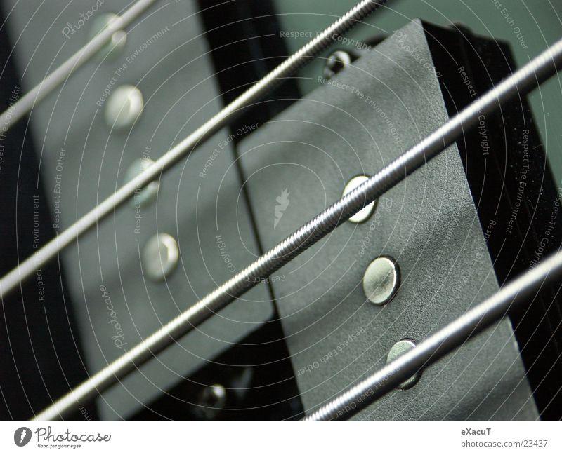 Tonabnehmer Saite Pickup schwarz Dinge pu splitcoil Kontrabass Musik Technik & Technologie Gitarre Makroaufnahme