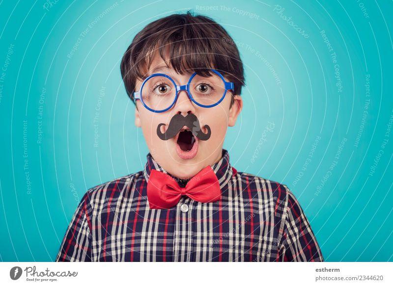 Glücklicher father´s Tag Lifestyle Freude Party Veranstaltung Feste & Feiern Karneval Mensch maskulin Kind Kleinkind Junge Eltern Erwachsene Vater