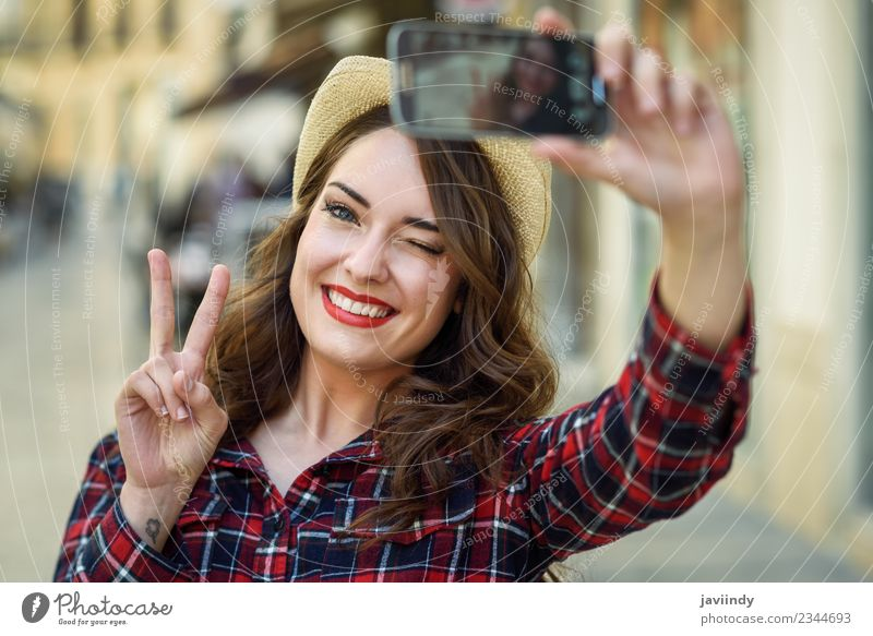 Junge selfie hübscher hübscher junge