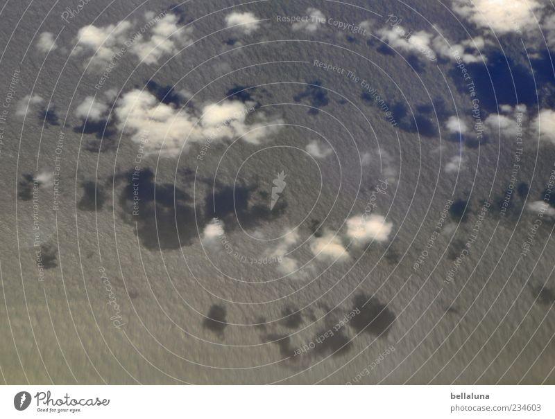Zuckerwatte - für Fotoline zum Geburtstag! Himmel Natur Wasser Meer Wolken Wellen fliegen Luftverkehr Schönes Wetter fantastisch Textfreiraum Wasseroberfläche Teneriffa Verkehr Schatten Himmelszelt