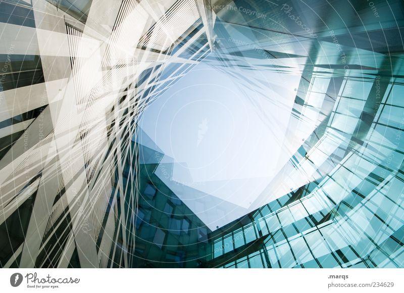 Elfhundert Lifestyle elegant Stil Design Fortschritt Zukunft Basel Hochhaus Bankgebäude Architektur Moderne Architektur Fassade außergewöhnlich Coolness