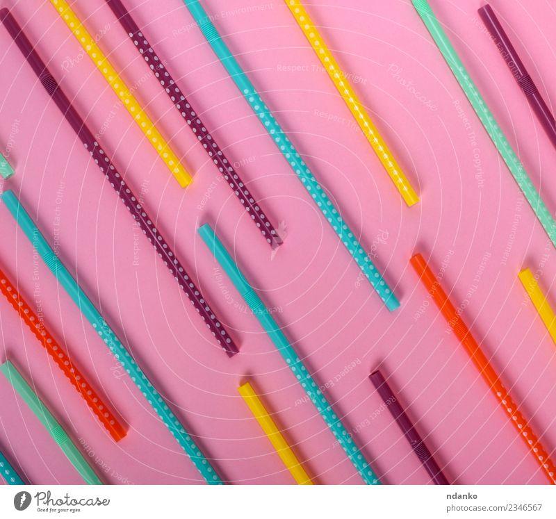 Farbe grün gelb Feste & Feiern rosa oben hell weich Kunststoff Tube