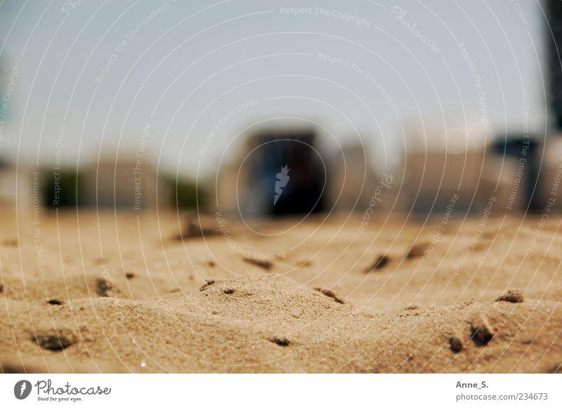 Sand und Sonne Natur Sommer Meer Strand ruhig Erholung Wärme Glück Stimmung Idylle Schönes Wetter Gelassenheit Ostsee Strandkorb