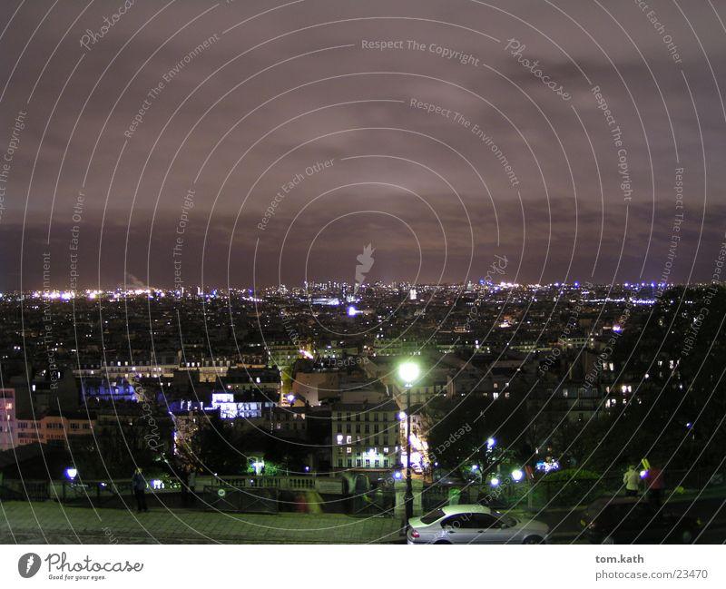 PARIS Paris Nacht dunkel Frankreich Stadt Europa Licht night dark france