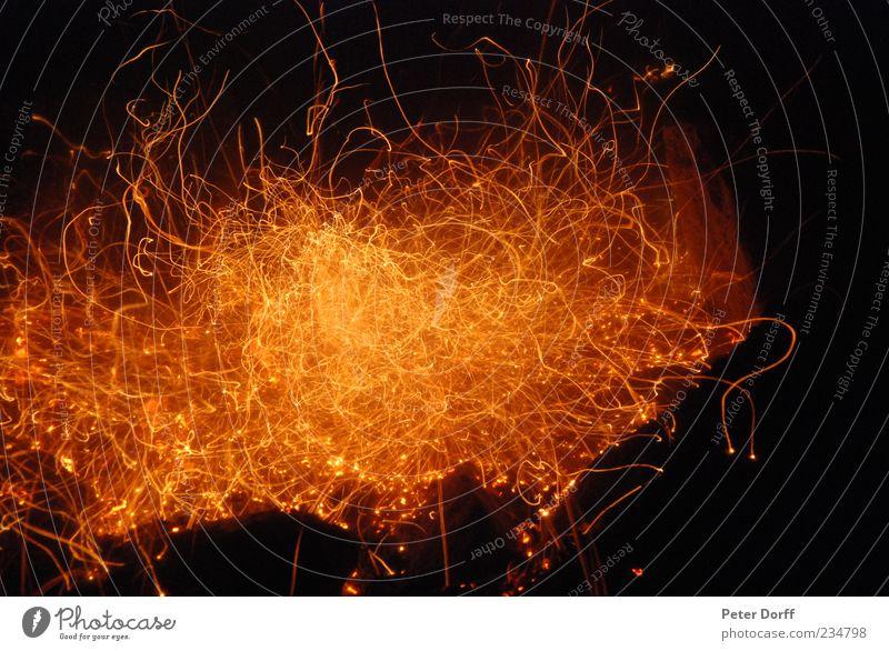 Inferno rot Farbe schwarz gelb dunkel Leben Wärme Stimmung Kraft gold elegant Energie Brand außergewöhnlich Feuer ästhetisch