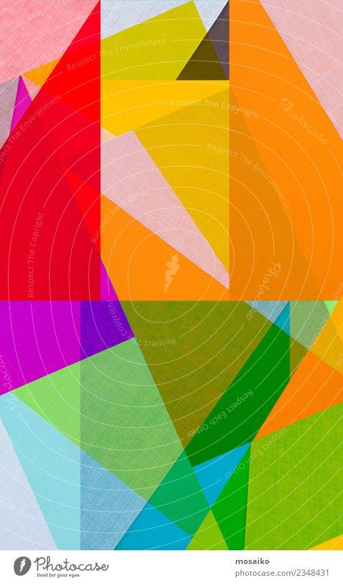 Farbenfrohe geometrische Formen Kunst exotisch Idee Inspiration Kreativität Kultur Lebensfreude Stil Design gestalten mehrfarbig Regenbogen regenbogenfarben