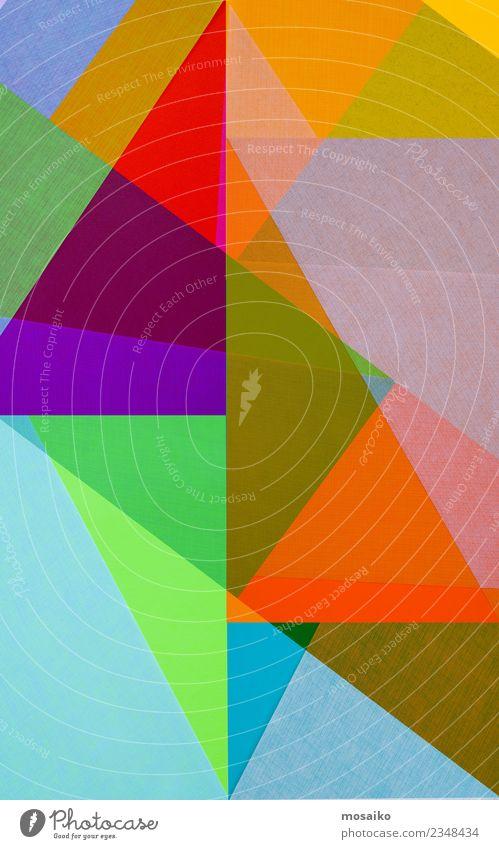 Bunte Geometrische Formen Lifestyle elegant Stil Design Freizeit & Hobby Kunst Kunstwerk Kultur Jugendkultur Veranstaltung Party ästhetisch trendy Originalität