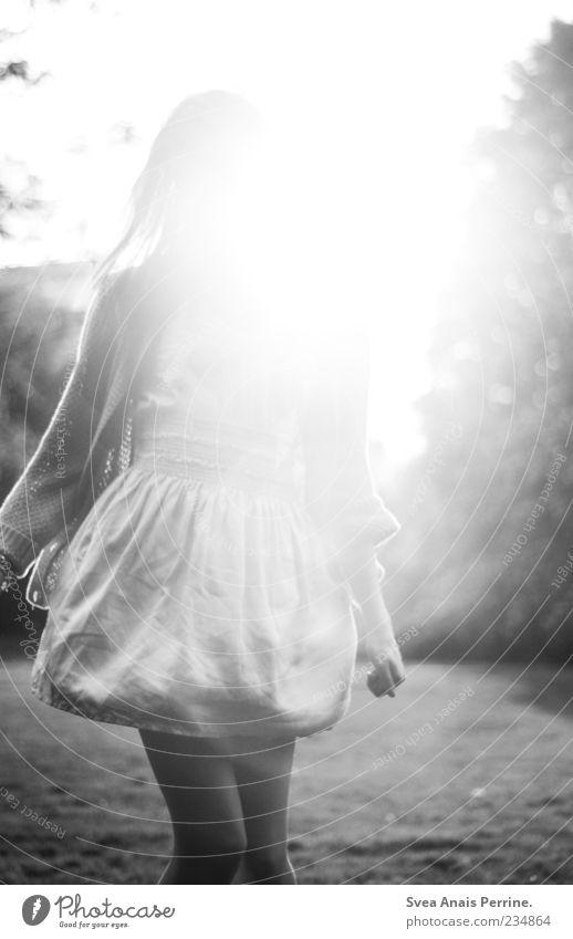 ein Faible für das Gute auf Erden. Mensch Jugendliche schön Sonne Erwachsene feminin Stil Mode Zufriedenheit Tanzen elegant wild außergewöhnlich Fröhlichkeit