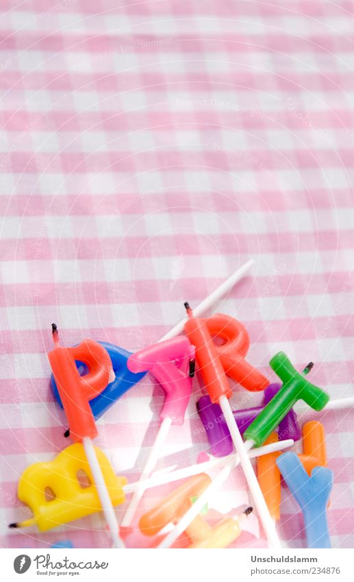 Festbeleuchtung Lifestyle Freude Party Veranstaltung Feste & Feiern Geburtstag Kindergeburtstag Dekoration & Verzierung Kerze Kitsch Krimskrams Schriftzeichen