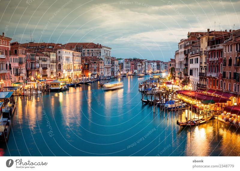 Venezia Ferien & Urlaub & Reisen Sommer venedig Italien Stadt Hafenstadt Stadtrand Sehenswürdigkeit Schifffahrt Bootsfahrt Tretboot Wasserfahrzeug Venice Lagoon