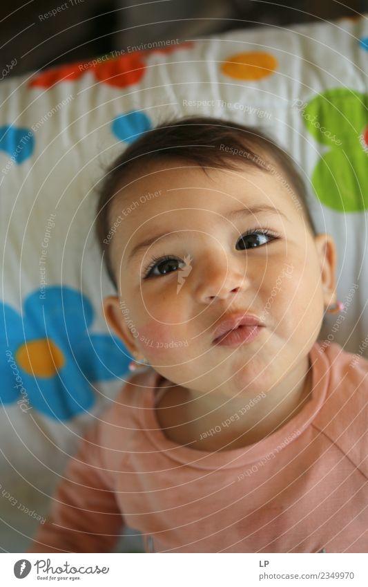 ich bin so cool. Freude Leben harmonisch Wohlgefühl Zufriedenheit Sinnesorgane ruhig Muttertag Kindererziehung Bildung Kindergarten Mensch Baby Kleinkind Eltern