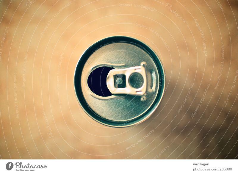 gelb Metall Lebensmittel offen ästhetisch Ernährung Getränk einfach rund trinken Müll Bier Appetit & Hunger dick Alkohol Dose