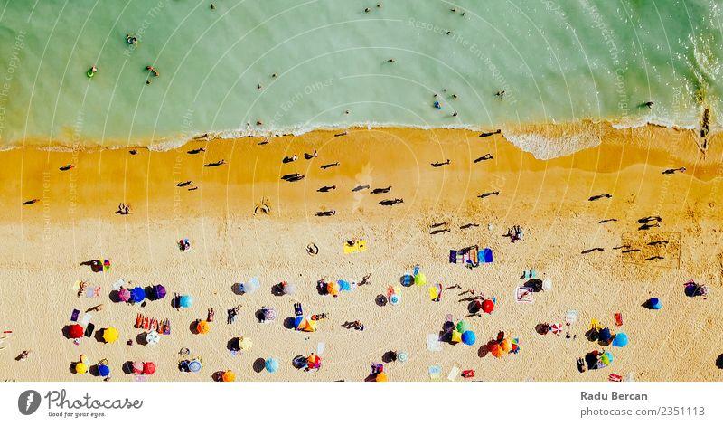 Natur Ferien & Urlaub & Reisen Sommer schön Landschaft Meer Freude Strand Lifestyle Umwelt Schwimmen & Baden Wellen Insel Abenteuer Schönes Wetter Wellness