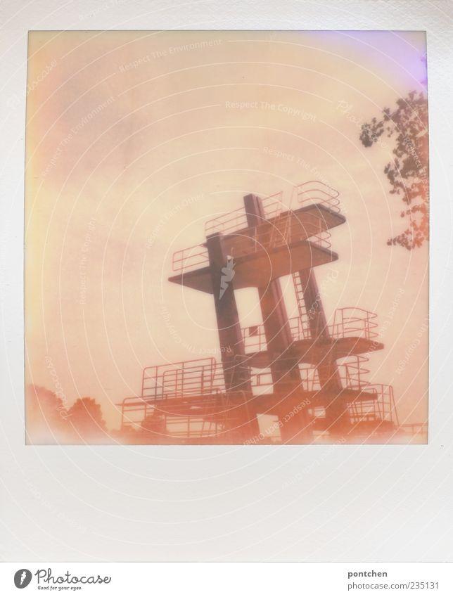 Version 3 Sommer Höhe Wassersport Sprungbrett Polaroid Freibad