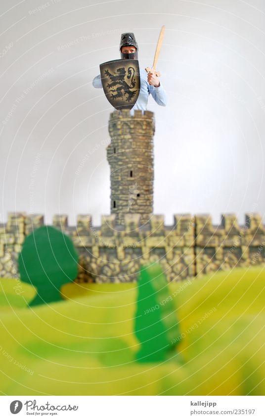 firewall Mensch Mann Baum Erwachsene Wand Mauer Kraft außergewöhnlich maskulin Macht Sicherheit Turm Schutz Burg oder Schloss Wachsamkeit Barriere