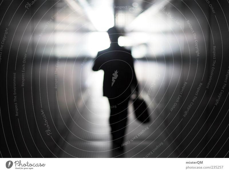 Into the future. Tod Leben Business Arbeit & Erwerbstätigkeit gehen Zukunft Hoffnung Koffer Geldinstitut Beruf Sitzung Glaube Lebenslauf Anzug Tunnel Flughafen