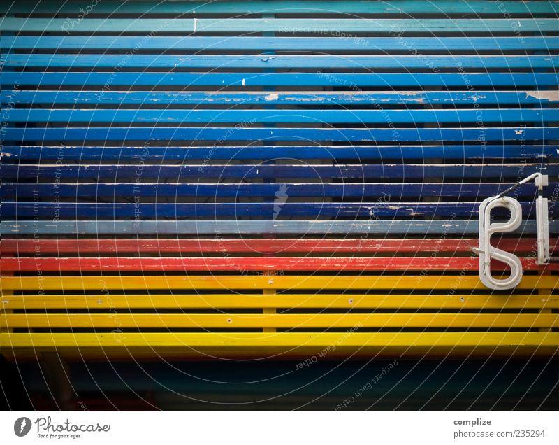 girls just wanna have fun blau Holz Gebäude Linie rosa Fassade Schilder & Markierungen Schriftzeichen Zeichen violett Werbung Neonlicht Holzwand mehrfarbig
