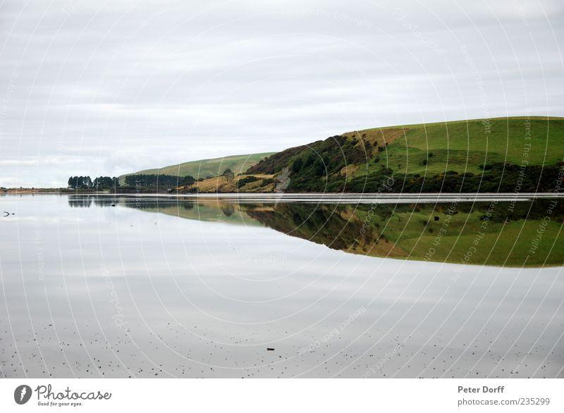 Mirrow Lake 2 Umwelt Natur Landschaft Wasser Himmel Wiese Wald Hügel Küste Seeufer blau grün Zufriedenheit gleich Farbfoto Außenaufnahme Menschenleer Tag
