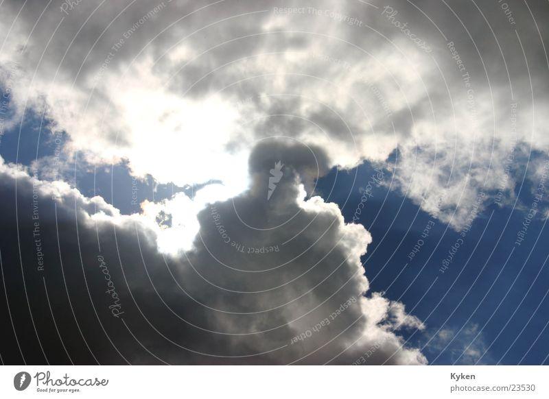 wech isse Wolken Apokalypse Luftverkehr Himmel Sonne Gewitter Regen Beleuchtung