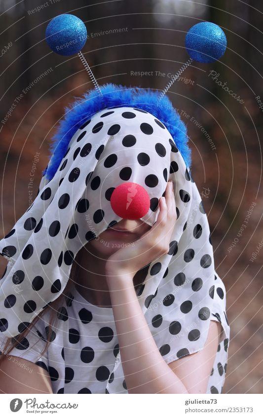 plem plem | Crazy girl inkognito Karneval Halloween feminin Mädchen Junge Frau Jugendliche Leben 1 Mensch 8-13 Jahre Kind Kindheit 13-18 Jahre Tuch Kopftuch