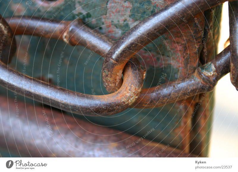 Und weiter? # 2 alt Metall Tor Verbindung Handwerk Rost Kette