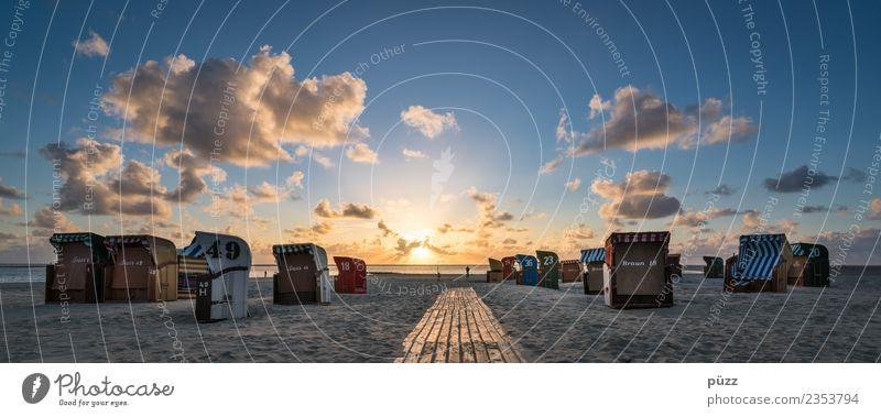 Way to the Sun Himmel Natur Ferien & Urlaub & Reisen Sommer Landschaft Sonne Meer Erholung Wolken Strand Wege & Pfade Gefühle Küste Tourismus Freiheit Stimmung