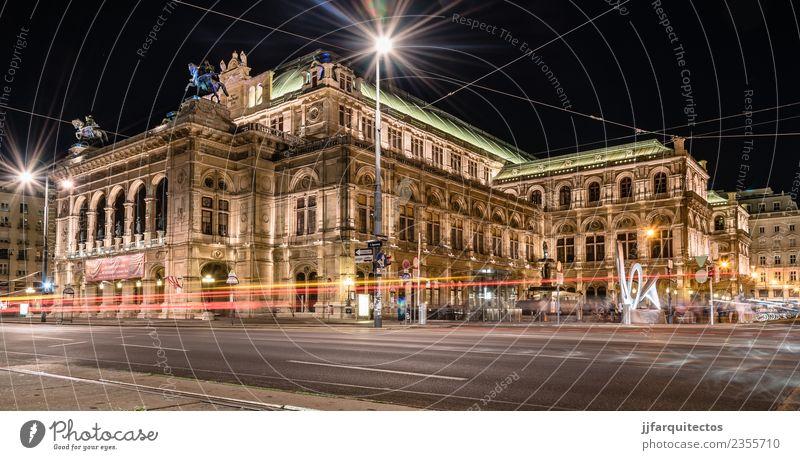 Die Wiener Staatsoper Ferien & Urlaub & Reisen Tourismus Sightseeing Städtereise Kunst Architektur Theater Kultur Konzert Oper Opernhaus Bibliothek Stadt
