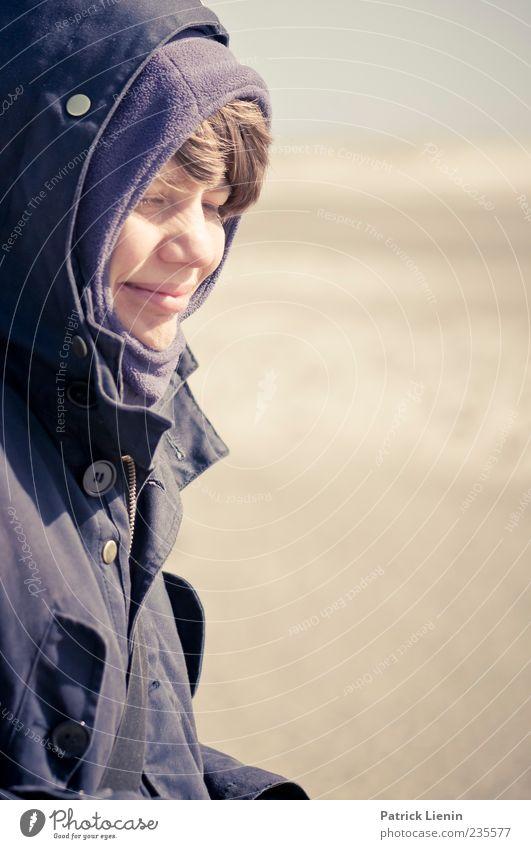 Spiekeroog | Zavi Mensch Frau Natur Sonne Meer Strand ruhig Erwachsene Erholung Umwelt Landschaft feminin Sand Kopf hell Wind