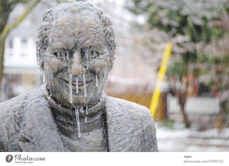 100   Frostbeule Mensch Mann Winter Gesicht Erwachsene Gesundheit kalt Metall Eis Lächeln Nase Klima Tropfen Denkmal Krankheit gefroren