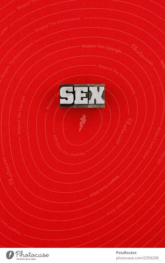 #AS# SEX rot Erotik Schriftzeichen Sex Buchstaben Kitsch graphisch Handel Sexualität Grafische Darstellung Sexpraktiken Sexismus Sex-shop Sexappeal