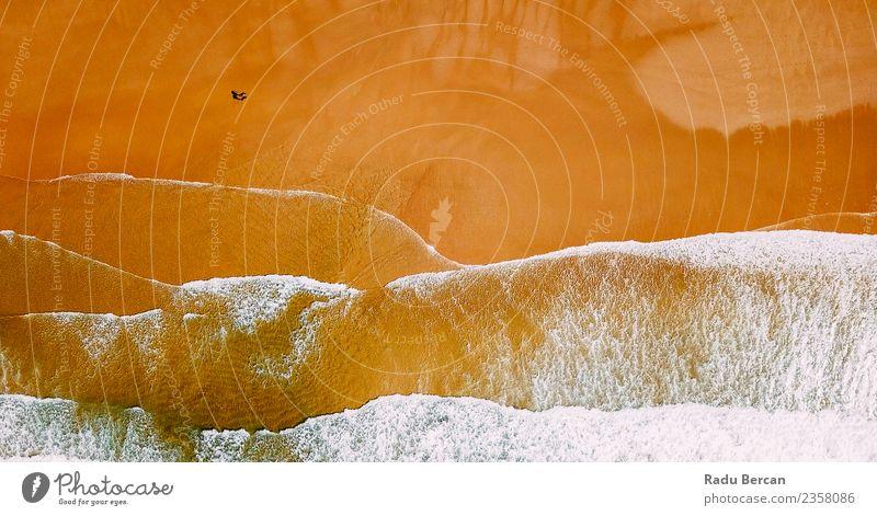 Mensch Natur Ferien & Urlaub & Reisen Jugendliche Sommer schön Wasser Landschaft Meer Ferne Strand Wärme Umwelt Liebe Küste Freiheit