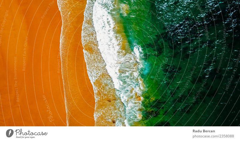 Natur Sommer grün Wasser Landschaft Meer Strand Wärme Umwelt Küste braun orange Sand Wetter Wellen Abenteuer